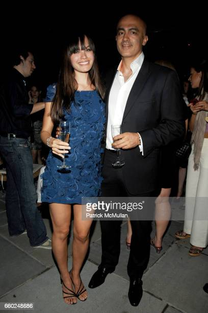 Desiree Dymond and Alex Tahsili attend ASTON MARTIN Presents the New DBS VOLANTE at Cooper Square Hotel on June 2 2009 in New York City