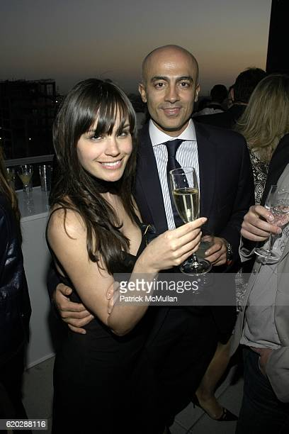 Desiree Dymond and Alex Tahsili attend Launch of TUMI's Alpha Collection and Matthew Modine's BICYCLE FOR A DAY at Chelsea Arts Tower on April 22...