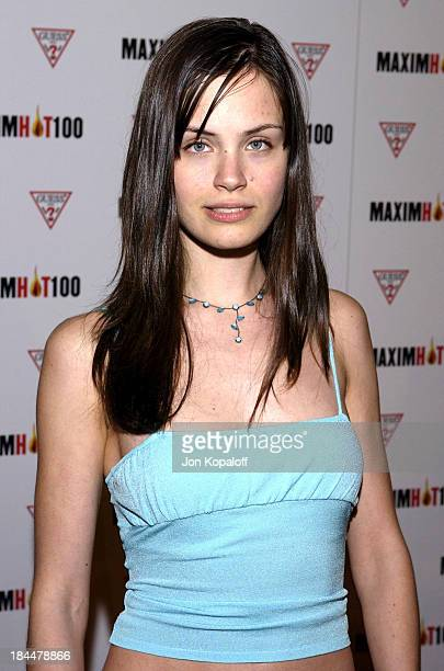 Desiree Dymond during Maxim Hot 100 Party Arrivals at Yamashiro in Hollywood California United States