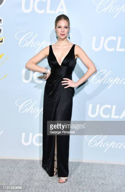 Desiree Gallas arrives at the 2019 Hollywood For Science Gala at Private Residence on February 21 2019 in Los Angeles California