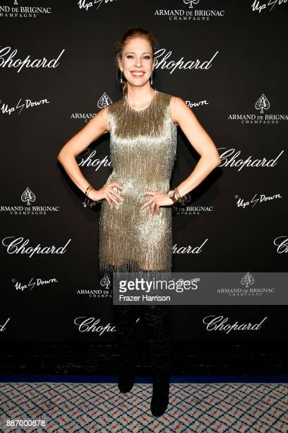 Desiree Gallas attends Creatures Of The Night LateNight Soiree Hosted By Chopard And Champagne Armand De Brignac at The Setai Miami Beach on December...