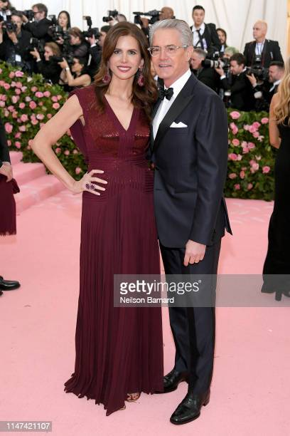 Desiree Gruber and Kyle MacLachlan attend The 2019 Met Gala Celebrating Camp Notes on Fashion at Metropolitan Museum of Art on May 06 2019 in New...
