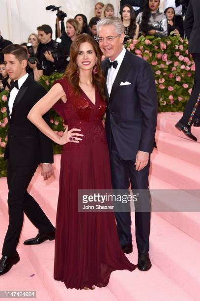 Desiree Gruber and Kyle MacLachlan attends The 2019 Met Gala Celebrating Camp Notes on Fashion at Metropolitan Museum of Art on May 06 2019 in New...