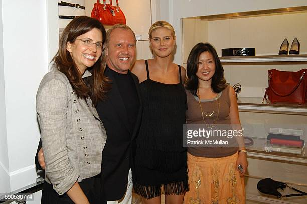 Desiree Gruber Michael Kors Heidi Klum and Jane Cha attend Heidi Klum and Michael Kors from the Emmy nominated Project Runway host an Intimate Summer...