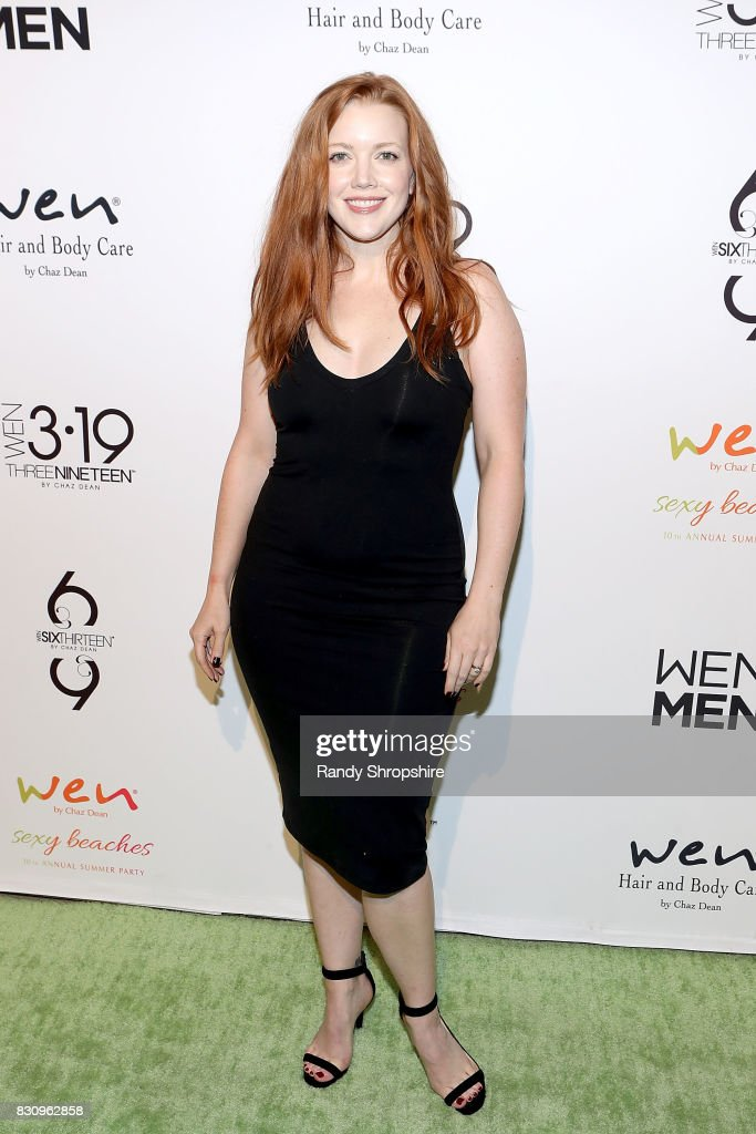 Desiree Hall attends Chaz Dean summer party benefiting Love Is Louder on August 12, 2017 in Los Angeles, California.