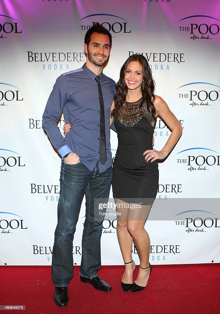 Desiree Hartsock And Chris Siegfried From The Bachelorette Hosts Pool After Dark At