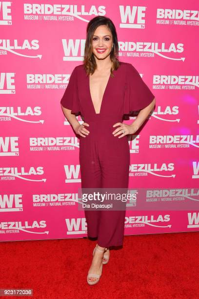 Desiree Hartsock attends WE tv Launches Bridezillas Museum Of Natural Hysteria on February 22 2018 in New York City