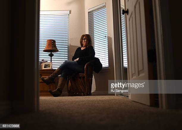 Desiree Kalodnicki who is the sister of of John Patrick Walter reflects on her brother's life at her home in Peyton January 10 2017 Kalodnicki's...