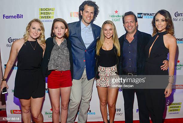 Desiree Murphy Alexis G Zall Drew Baldwin Madison Iseman Max Gottlieb and Shira Lazar attend Social Media Week Los Angeles and What's Trending...