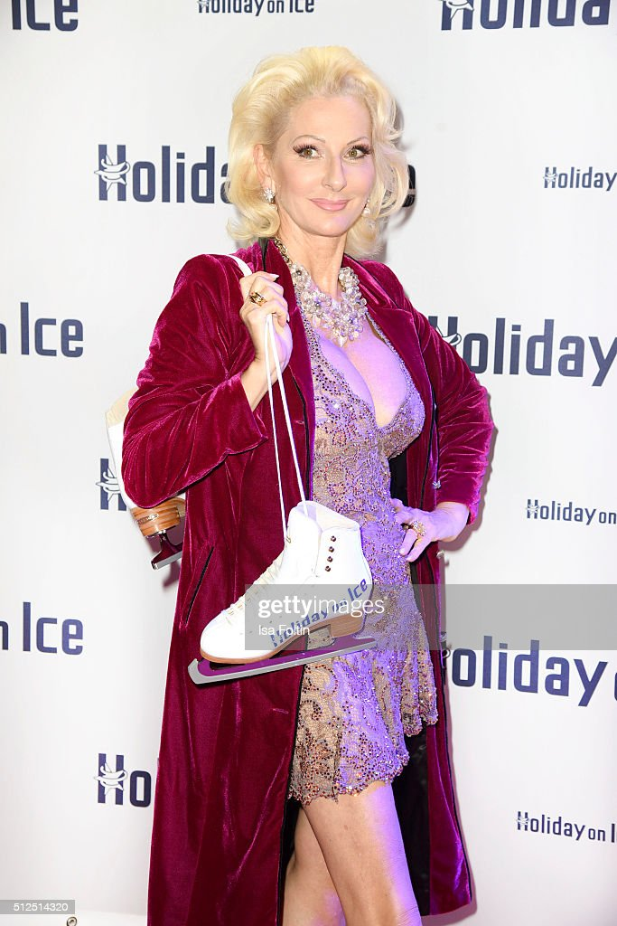 Desiree Nick attends the 'Holiday on Ice: Passion' Berlin Premiere on February 26, 2016 in Berlin, Germany.
