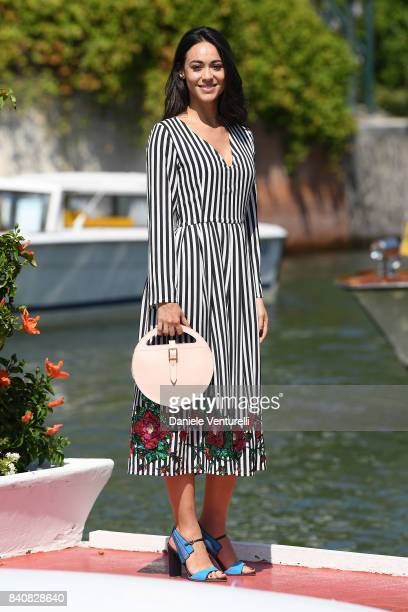 Desiree Noferini is seen during the 74th Venice Film Festival on August 30 2017 in Venice Italy