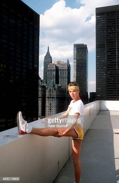 Desiree Nosbusch am in Manhattan in New York USA