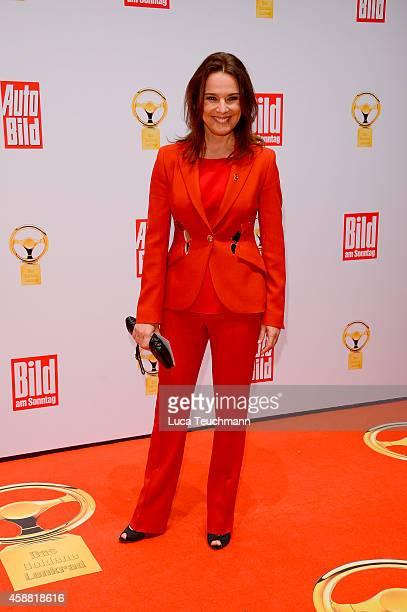 Desiree Nosbusch attends 'Goldenes Lenkrad' Award 2014 at Axel Springer Haus on November 11 2014 in Berlin Germany