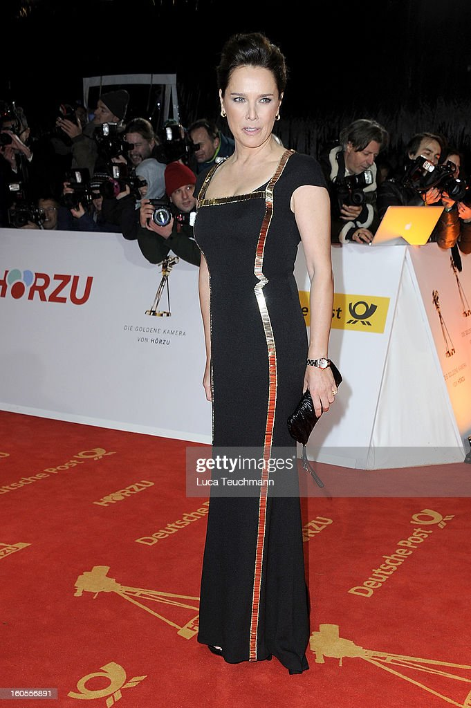 Desiree Nosbusch attends the 48th Golden Camera Awards at the Axel Springer Haus on February 2, 2013 in Berlin, Germany.