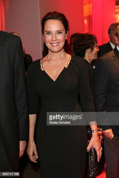 Desiree Nosbusch attends the Ein Herz Fuer Kinder Gala 2015 reception at Tempelhof Airport on December 5 2015 in Berlin Germany
