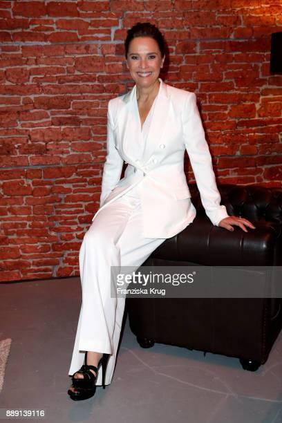 Desiree Nosbusch attends the Ein Herz Fuer Kinder Gala reception at Studio Berlin Adlershof on December 9 2017 in Berlin Germany