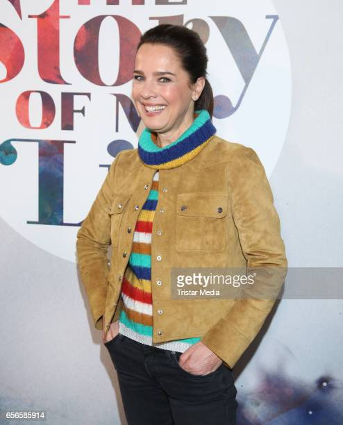 Desiree Nosbusch attends the 'The Story Of My Life' photocall at Hamburg East Hotel on March 22 2017 in Berlin Germany