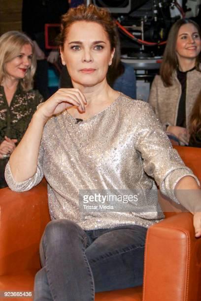 Desiree Nosbusch during the NDR Talk Show on February 23 2018 in Hamburg Germany