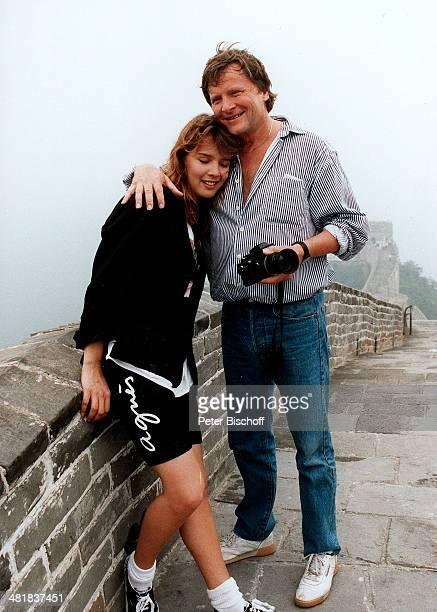 Desiree Nosbusch Lebensgefährte Georg Bossert Chinesische Mauer China