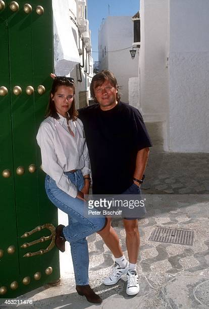Desiree Nosbusch und Lebensgefährte Georg Bossert am in Tanger, Marokko.