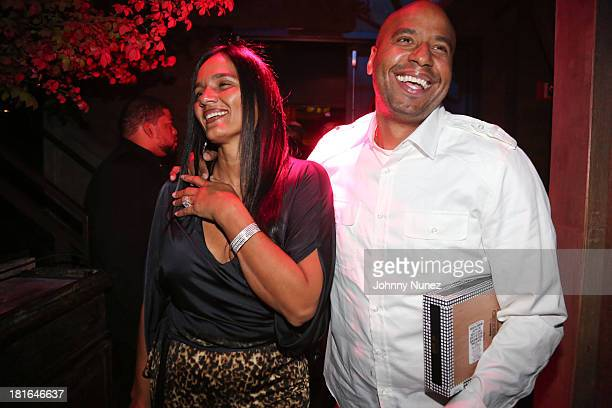 Desiree Perez and 'OG' Juan Perez attend Kevin Durant's 25th Birthday Party at Avenue on September 22 2013 in New York City