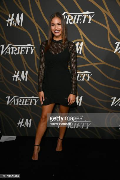 Desiree Ross attends Variety Power of Young Hollywood at TAO Hollywood on August 8 2017 in Los Angeles California