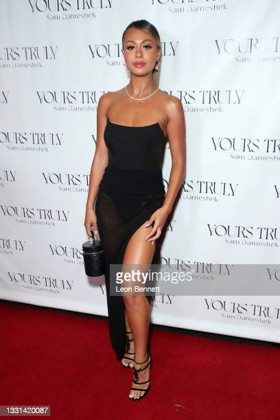 """Desiree Schlotz attends Celebrity Photographer Sam Dameshek's Black Tie Book Release Event For """"Yours Truly"""" at Fellow on July 29, 2021 in Los..."""