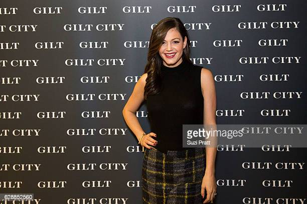 Desiree Siegfried poses for a photo at the Gilt City Sample Sale on December 9 2016 in Seattle Washington