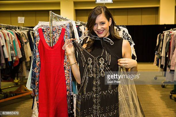 Desiree Siegfried shops the Gilt City Sample Sale on December 9 2016 in Seattle Washington