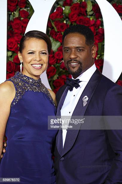 Desiree Underwood and Blair Underwood attend the 70th Annual Tony Awards at the Beacon Theater on June 12 2016 in New York City