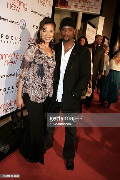 Desiree Underwood and Blair Underwood during Los Angeles Premiere of Focus Features' Something New at Cinerama Dome / Cabanna Club in Hollywood...