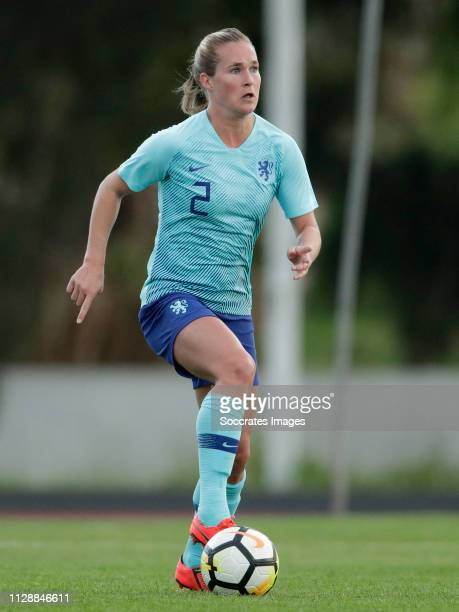 Desiree van Lunteren of Holland Women during the Algarve Cup Women match between China PR v Holland at the Estadio Municipal de Albufeira on March 6,...