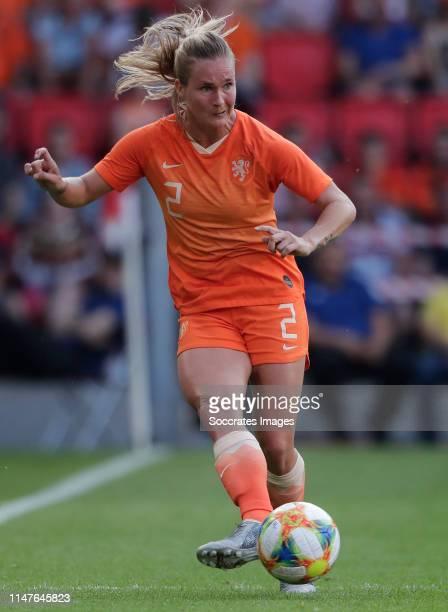 Desiree van Lunteren of Holland Women during the International Friendly Women match between Holland v Australia at the Philips Stadium on June 1 2019...
