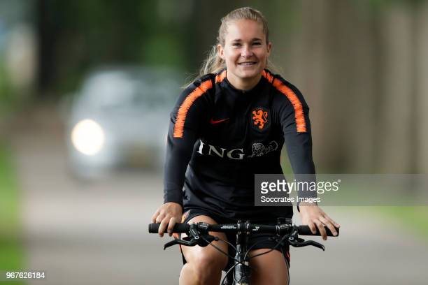 Desiree van Lunteren of Holland Women during the Training Holland Women at the KNVB Campus on June 5 2018 in Zeist Netherlands