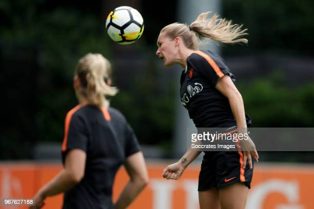 Desiree van Lunteren of Holland Women during the Training Holland Women at the KNVB Campus on June 5, 2018 in Zeist Netherlands