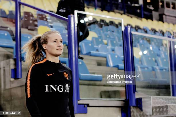 Desiree van Lunteren of Holland Women during the Training & Press conference Holland Women at the GelreDome on November 11, 2019 in Arnhem Netherlands