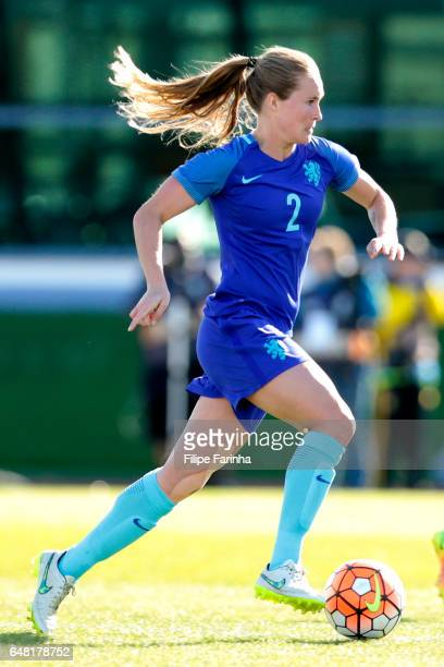 Desiree Van Lunteren of Netherlands during the Algarve Cup Tournament Match between Australia W and Netherlands W on March 3 2017 in Vila Real de...