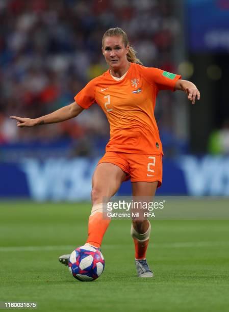 Desiree Van Lunteren of the Netherlands during the 2019 FIFA Women's World Cup France Semi Final match between Netherlands and Sweden at Stade de...