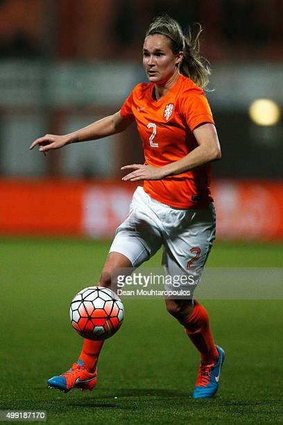 Desiree van Lunteren of the Netherlands in action during the International Friendly match between Netherlands and Japan held at Kras Stadion on...
