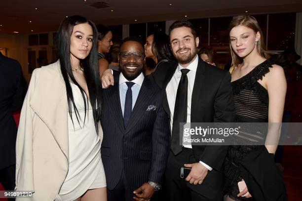 Desiree Vanessa Greg Davis Jr Charlie Verman and Aga Vjotasik attend Opera and Couture Radmila Lolly at Carnegie Hall on April 20 2018 in New York...