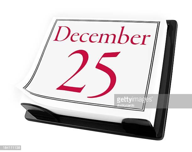 Desk Calendar - Christmas Day