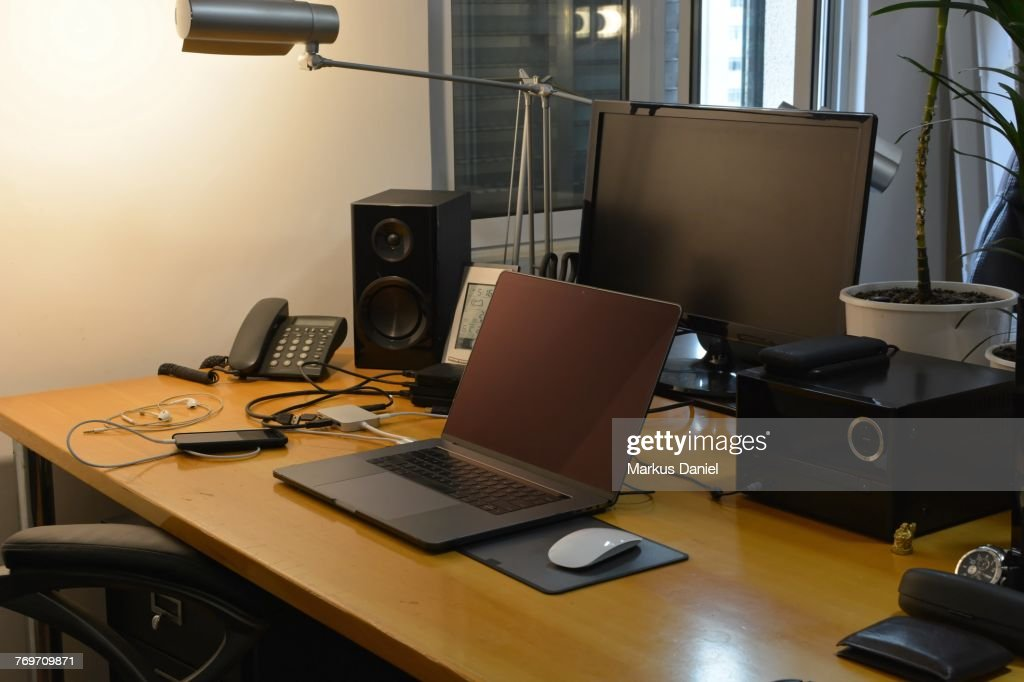 Desk Space : Stock Photo