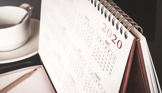 Desktop calendar 2020 1162245415