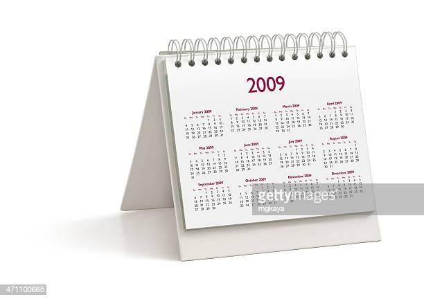 Desktop Calendar: Year 2009