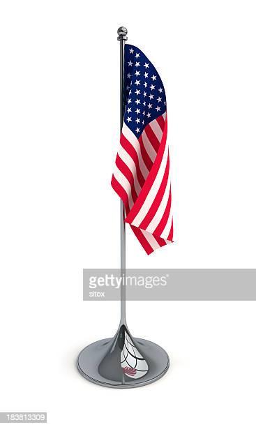 Sobremesa bandera de los Estados Unidos
