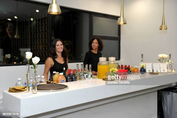 DesMadre Tequila at Living Beauty 'The Gift' Photo Exhibit at The Buterbaugh Gallery on October 19 2017 in Los Angeles California