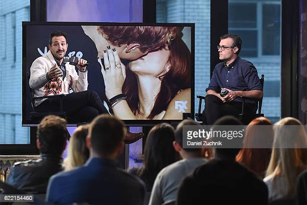 Desmin Borges attends AOL Build to discuss the FX show 'You're the Worst' at AOL HQ on November 10, 2016 in New York City.