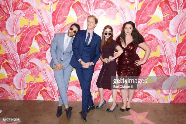 Desmin Borges Chris Geere Aya Cash and Kether Donohue atten the Premiere Of FXX's 'Your The Worst' Season 4After Party on August 29 2017 in Los...