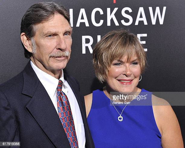 Desmond Doss Jr and Elaine Roorda at Samuel Goldwyn Theater on October 24 2016 in Beverly Hills California