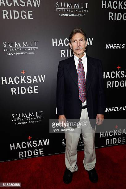 Desmond Doss Jr attends the Hacksaw Ridge special screening at the National World War II Museum on October 26 2016 in New Orleans Louisiana